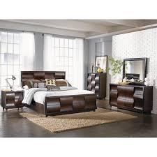 the wave storage bedroom bed dresser u0026 mirror king b179465
