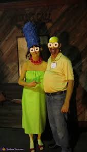 Cheech Halloween Costume Marge U0026 Homer Costume 2016 Halloween Costumes Halloween
