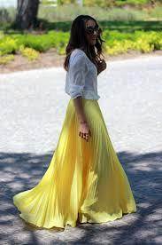 Long Flowy Maxi Skirt 102 Best Faldas