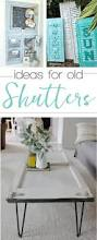 best 25 flea market decorating ideas on pinterest flea market got some old shutters in your garage this is what you should do with them