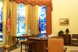 oval office curtains the jimmy carter presidential library and museum
