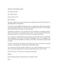 termination of employment letter example u2013 aimcoach me