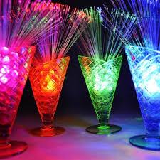 sparkle lites fibre optic table decorations pinteres