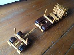 log truck back speelgoed toys pinterest logs toy and