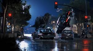 jurassic park car trex dueling dinos returning to the lost world 1960 and the lost