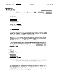 settlement template letter list of successful debt negotiation with cash call saved 528 21 saved 528 21