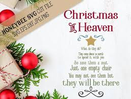 Empty Chair Poem Christmas In Heaven Chair Illustrations Creative Market