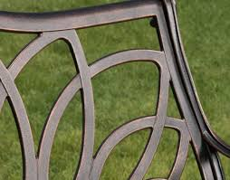 Cast Aluminum Furniture Manufacturers by Garden Benches Home Depot