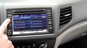 2009 Honda Civic Coupe Interior 2012 Honda Civic Ex L With Navi Interior Dash And Navigation