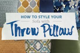 Sofa Mart Lakewood by How To Style Your Sofa With Throw Pillows Front Door