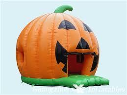 Inflatable Halloween Decorations Pumkin Bouncy Castle For Halloween Events Inflatable Halloween