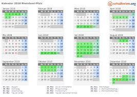 Ferienkalender 2018 Bw Kalender 2018 Ferien Rheinland Pfalz Feiertage