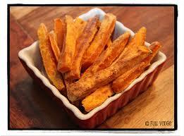 cuisiner patates douces frites de patates douces cuites au four vedge recettes