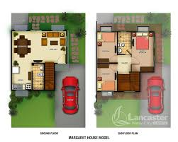 floor plan of a house margaret homes house and lot for sale cavite philippines