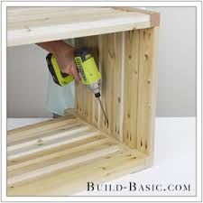 How To Make A Toy Chest Cushion by Build A Diy Outdoor Storage Box U2039 Build Basic