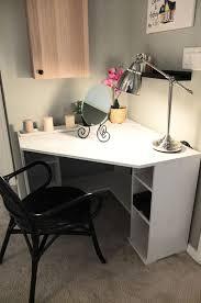 desks lowes computer desks l shaped computer desk with hutch