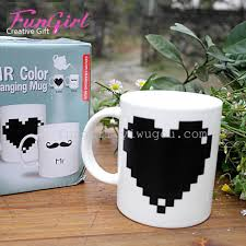 supply beard color change mug cup cute patterns when they color