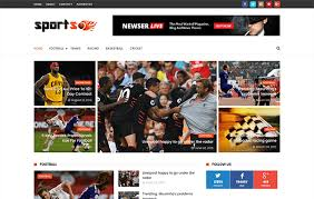 sportsmag responsive blogger template blogger templates gallery