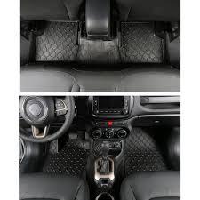 tappeti di gomma per auto 3 pz set di gomma piano auto stuoie impermeabili tappeti per auto