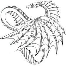 sea serpent dragon coloring free printable coloring pages