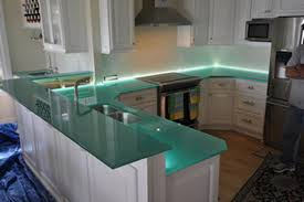 glass kitchen countertops gorgeous glass kitchen countertops