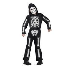 Kmart Size Halloween Costumes Skeleton Costume Ages 6 8 Kmart