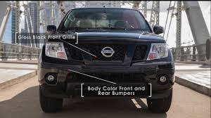 nissan frontier 2018 nissan frontier midnight edition youtube