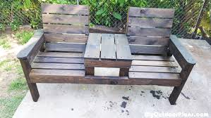 Free Woodworking Patio Furniture Plans by Diy Outdoor Chair Bench Myoutdoorplans Free Woodworking Plans