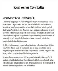 cover letter social work social worker cover letter example