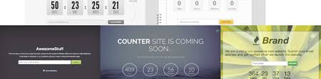 5 clean and free coming soon page templates