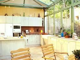 cuisine veranda veranda cuisine rideaux veranda cuisine