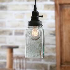 Glass Jar Pendant Light Mason Jar Pendant Lamp Kit Lamp Making Basic Craft Supplies