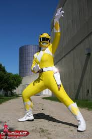 cosplay power rangers yellow ranger power rangers cosplay