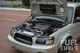custom subaru forester 2005 subaru forester xt sti for under 20k fuel curve