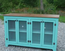 distressed corner tv cabinet shabby chic tv stand etsy