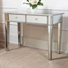 Florentine Silver 3 Drawer Mirror Sofa Table 55downingstreet Com