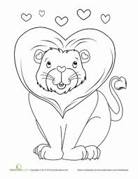 10 adorable valentine u0027s day coloring pages education com