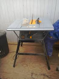 Woodworking Equipment Auction Uk by Table Saw Second Hand Home Improvement Tools And Equipment Buy