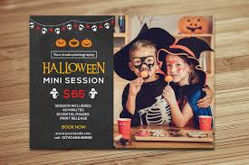 halloween mini session template on behance editorial pinterest