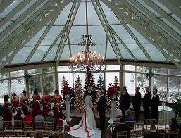 winter wedding venues springwood conference center winter wedding ceremony and reception