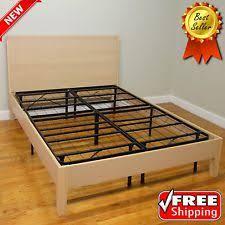 Metal Platform Bed Frame Metal Platform Beds Frames Ebay