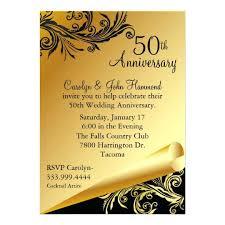 50th wedding invites 2913