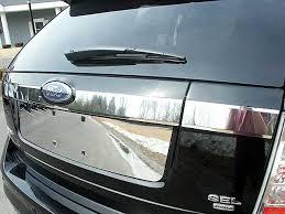 ford edge accessories ford edge chrome trunk accent trim 3pc set 2007 2008 2009