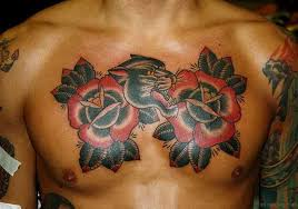 85 mind blowing rose tattoos on chest