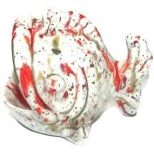 ceramic fish ring holder images Scrubbie holder vintage ceramic fish scrubby holder kitchen sink jpg