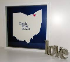 wedding gifts engraved state wedding map personalized wedding gift framed define