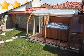 spa d exterieur bois fabrication vente d u0027abri de piscine bois et alu abris piscines