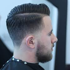 stubble taper with hard part haircuts for men 2017 mens