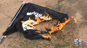 Jihad Flag For Sale Isis Flag Burning Challenge Youtube
