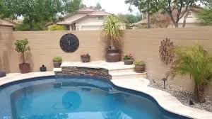 small yard pool project huge transformation 2017 also inground